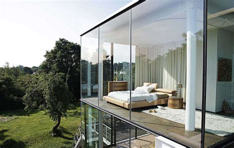 glass bedroom 25 cool bedroom designs to dream about at night