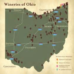 Ohio Wineries Map by Audi Wine And Drive Event On Behance