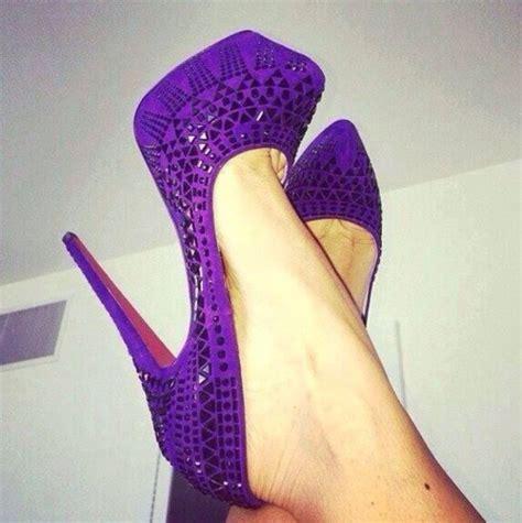 shoes purple shoes tribal pattern tribal pattern