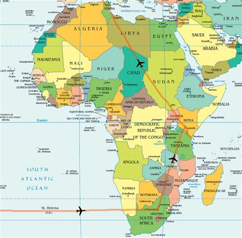 africa map cities 301 moved permanently