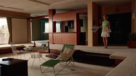 layout of don draper s house lighter side don t be mad men