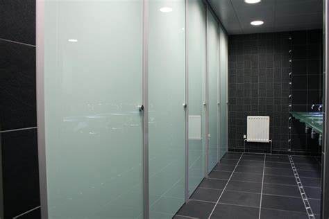 Bathroom Partition Ideas by Bathroom Partitions Inside Glass Toilet Cubicles Glass