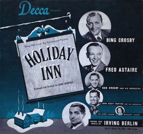 bing crosby holiday songs song hits from holiday inn wikipedia