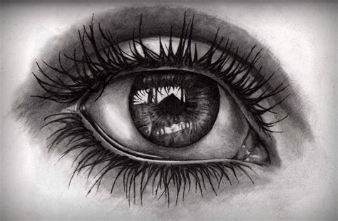 A Drawing Of An Eye by Tips On Learning To Draw Bloglet