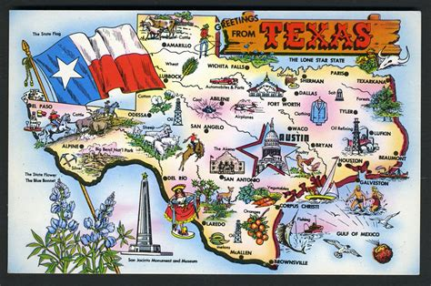 texas attractions map map of uk counties and major cities images