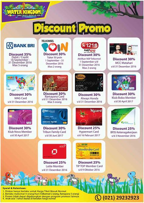 agoda telkomsel promo water kingdom mekarsari diskon up to 35 s d 2017