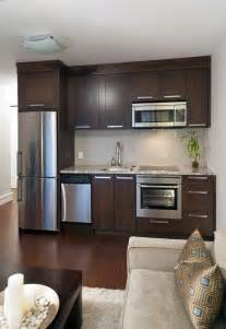 Marvelous Kitchenette Designs #5: Contemporary-basement-kitchen-contemporary-living-rooms-cfc15679546dbc45.jpg