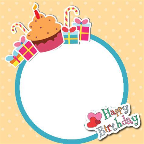 frame design for birthday birthday photo frames clipart best
