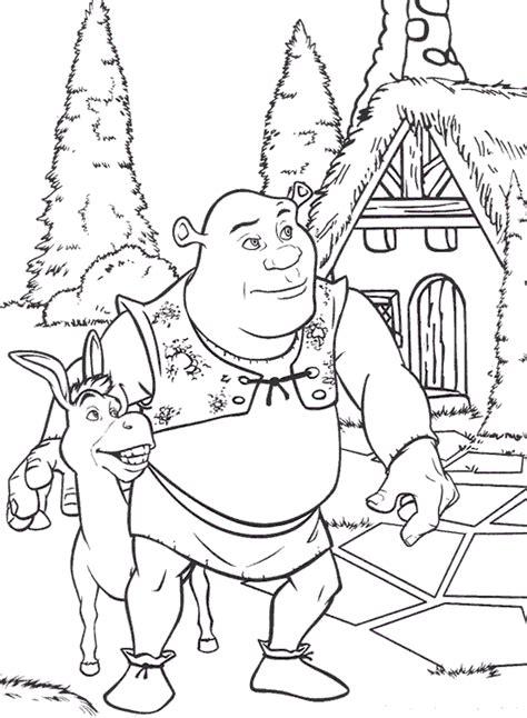 shrek 1 dibujos para colorear dibujos para dibujar