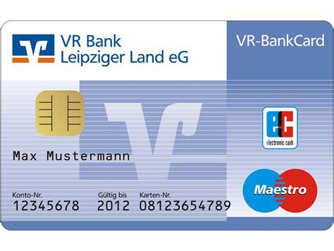 vr bank mastercard kreditkarte oder debitkarte schulden oder guthaben
