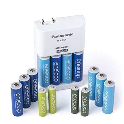 Best Produk Panasonic Basic Charger Eneloop Aa 2000mah 4pcs 2100cycl these are the best rechargeable batteries on the market