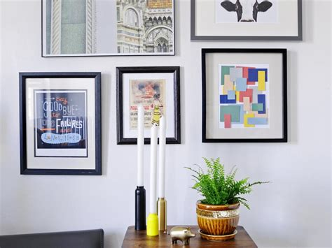 diy art ideas hgtv turn paint chips into geometric diy wall art hgtv