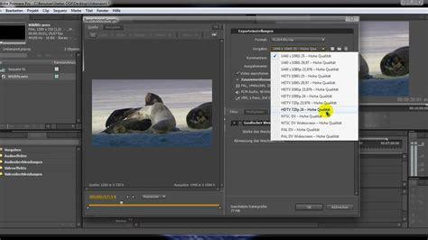 tutorial adobe premiere pro cs4 adobe premiere pro cs4 tutorial videos in verschiedenen