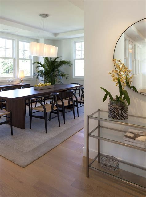 Console Table In Dining Room Brass Console Table Family Room Contemporary With Brown Built In Storage Beeyoutifullife
