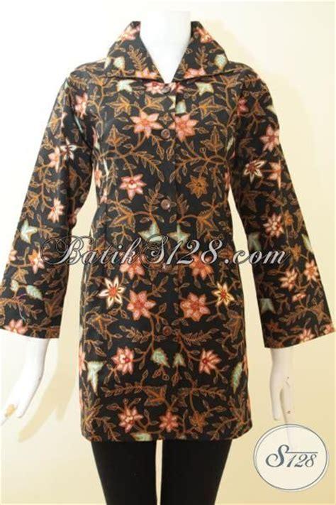 Baju Batik Perempuan Dewasa baju batik klasik motif bunga bunga untuk perempuan dewasa karir aktif busana batik tulis