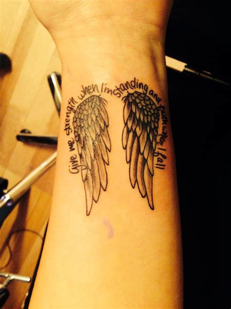 angel wings wrist tattoo wings inkk piercings tattoos wrist