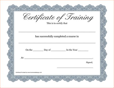 certificate of completion template free printable free printable attendance award certificates