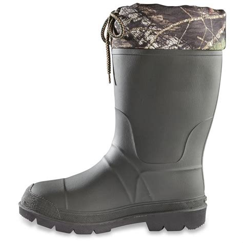 mens thermal boots kamik s sportsman rubber boots waterproof insulated