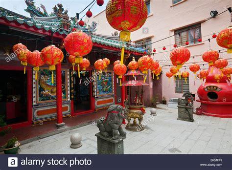 new year lantern supplier malaysia lanterns decorate sang ti miao temple on jalan carpenter