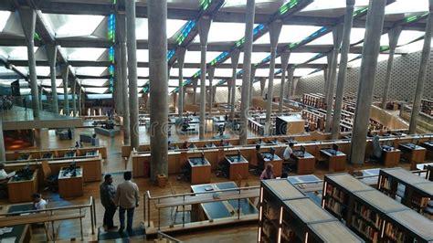 libreria di alessandria biblioteca di alessandria d egitto immagine editoriale