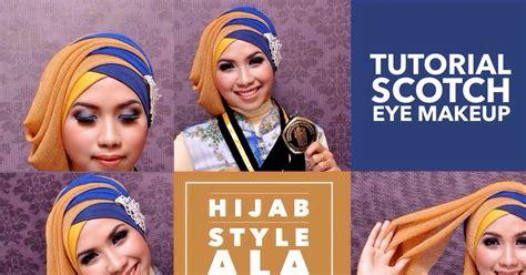 tutorial hijab wisuda terbaru ala vindy ini vindy yang ajaib makeup natural dan tutorial hijab