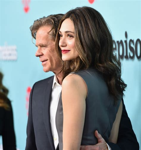 emmy rossum and william macy william h macy and emmy rossum photos photos zimbio