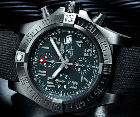 Good Home Layout Design by Breitling Avenger Bandit Watch Ablogtowatch