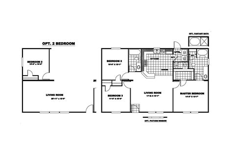 clayton homes floor plans manufactured home floor plan 2010 clayton inspiration 21orw28443ah10
