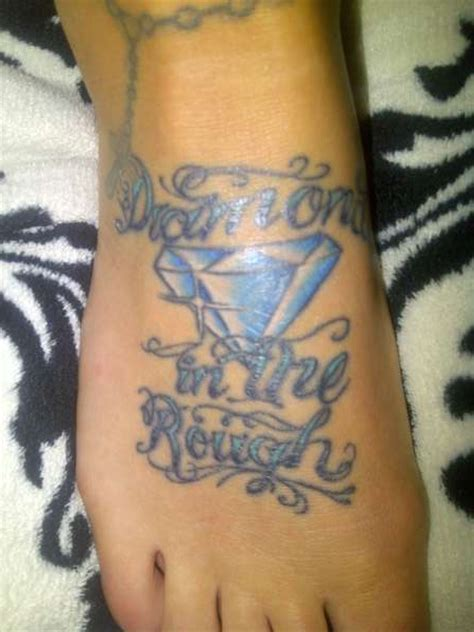 diamond in the rough tattoo designs in the