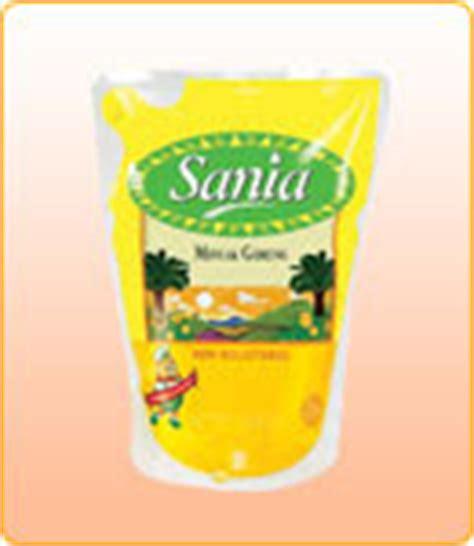 Minyak Sania 1 Liter cybermart sania minyak goreng refill 2 liter