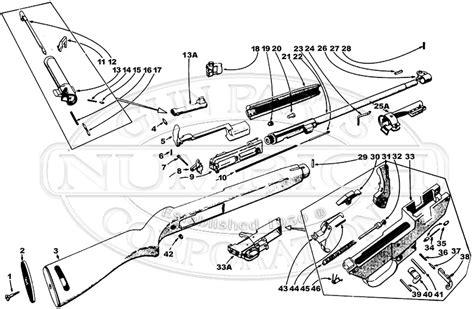 m1 carbine parts diagram parts list m1c accessories numrich gun parts