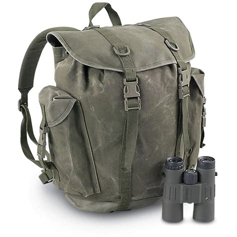 ruck sacks used german mountain rucksack o d 94647 rucksacks backpacks at sportsman s guide