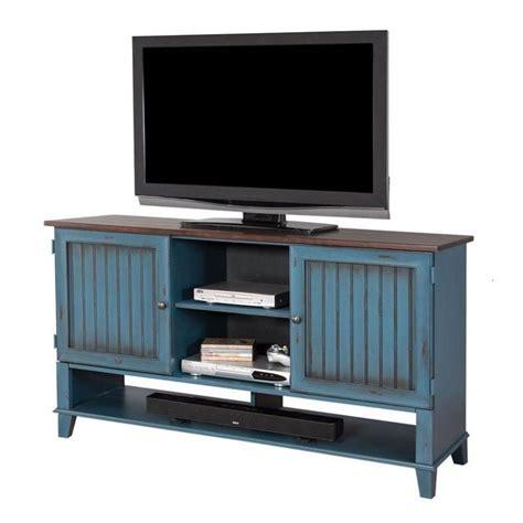 tv stand entertainment center furniture ellington deluxe - Blue Entertainment Center