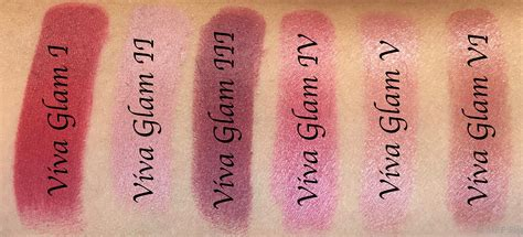 Eyeshadow Viva No 2 all mac viva glam lipsticks shades review swatches viva glam i viva glam ii viva glam iii