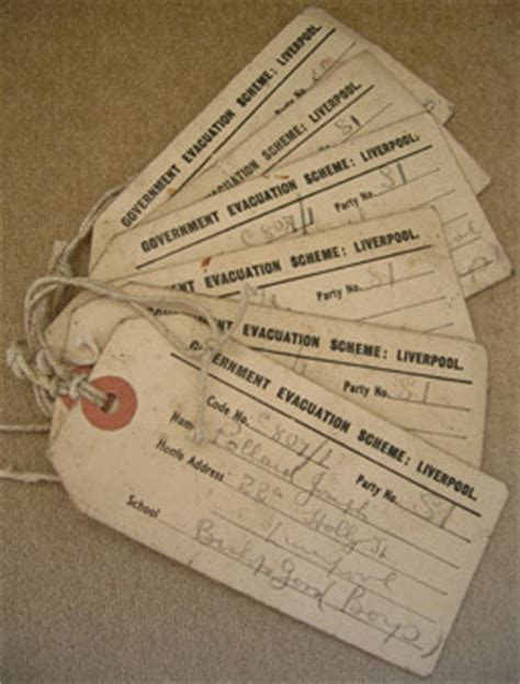 evacuation label template ww2 s war labelled
