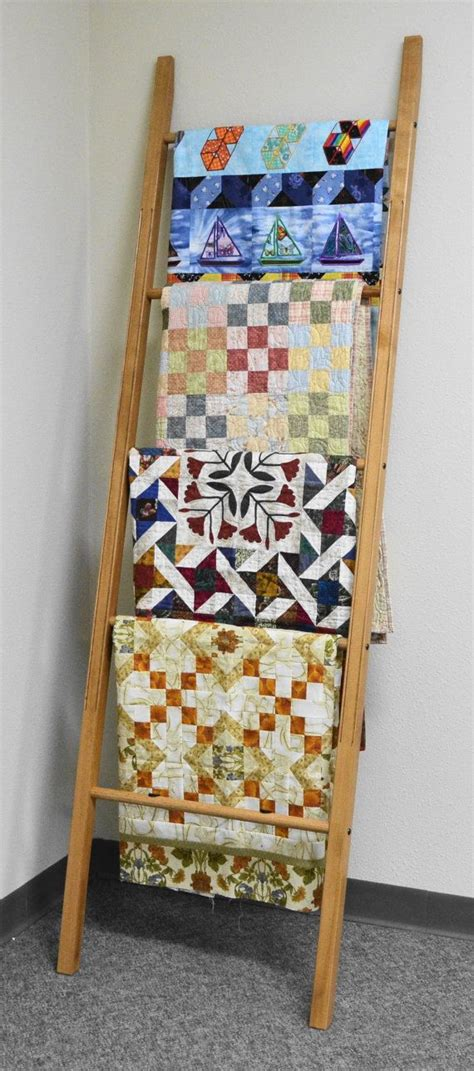 Quilt Ladders For Display by Quilt Ladder Handmade Quilting Accessories Wooden