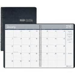 House Planners hod26202 house of doolittle wirebound monthly planner