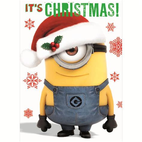 minions christmas card collection ebay