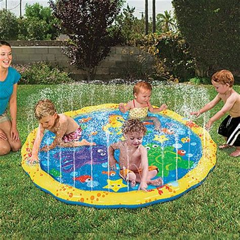 Sprinkler Mat toddlers sprinkle pools mats webnuggetz