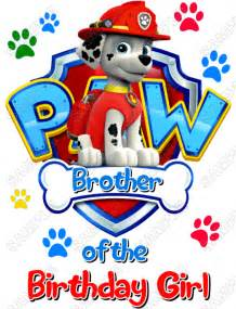 paw patrol iron transfers