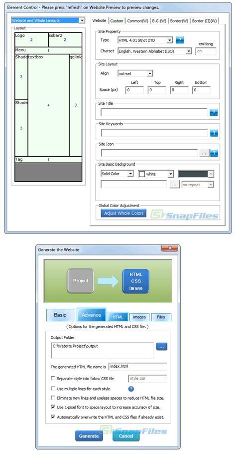 layout maker download website layout maker screenshot and download at snapfiles com