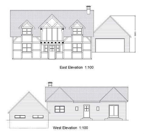 house and site plans