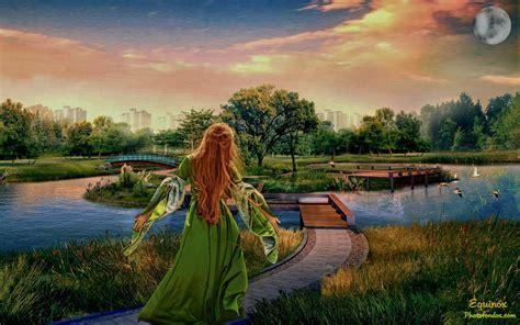 imagenes de fantasias mitologicas paisaje fantasia la
