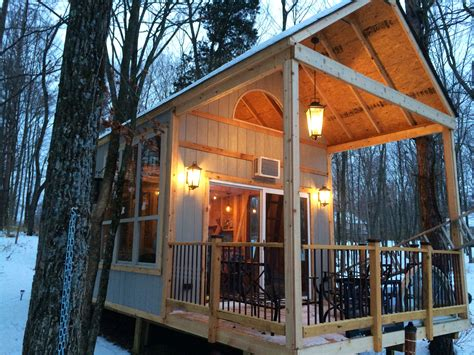 Lake Cabins Ohio by Adventure Journal A Single Builds Own On Lake