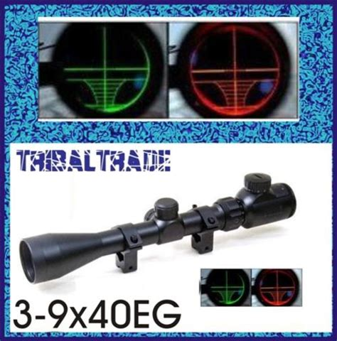 Telescope Buhsnell 3 9x40egc scopes bushnell banner dusk 3 9x40eg green illuminated rifle scope was sold for