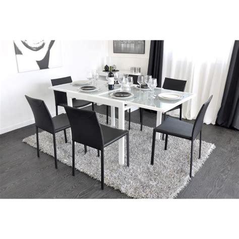 table salle a manger blanche pas cher extend table extensible blanche 90 180cm achat vente