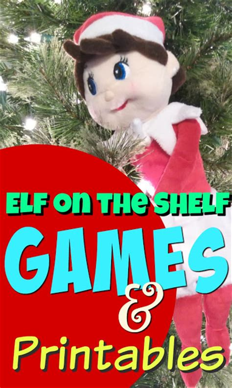 printable elf on the shelf games elf on the shelf story game ideas kids creative chaos