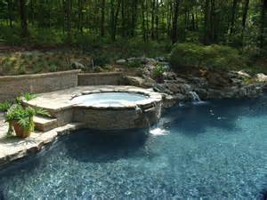 swimming pool tub landscape dsign renovation in