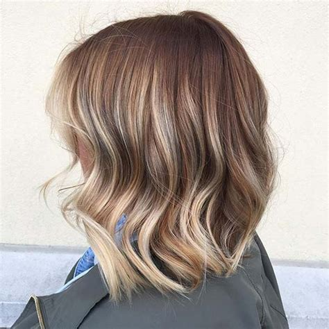 caramel and blondebob styles 31 lob haircut ideas for trendy women stayglam