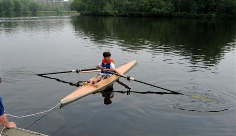scull of boat stages of learning little sculling boat company